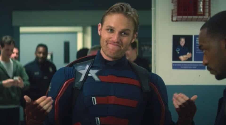 Capitán América en Falcon y el soldado de invierno