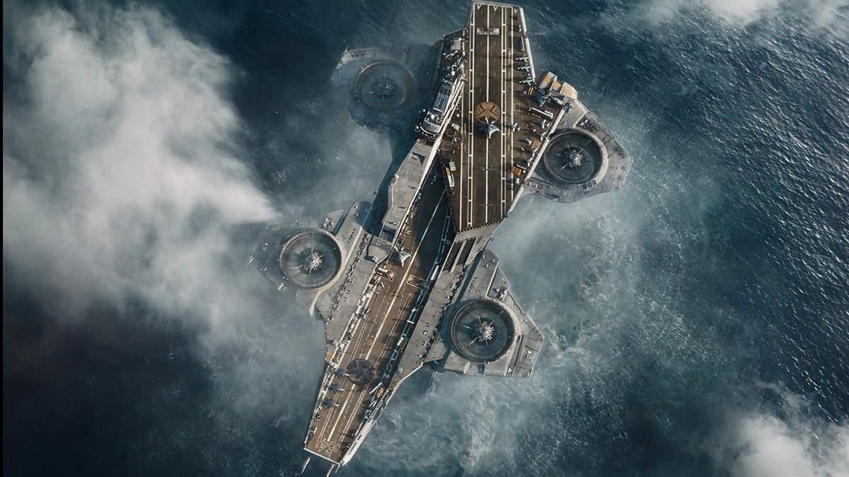 The Helicarrier at the UCM