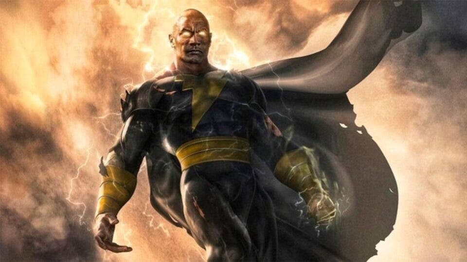 Black Adam interpretado por Dwayne Johnson