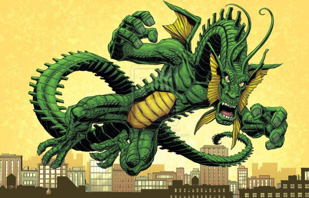 Fing Fang Foom: the possible great enemy of the Shang-Chi ribbon
