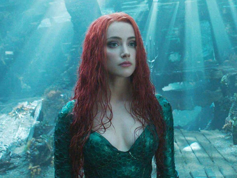 Amber Heard begins her training to be Mera in Aquaman 2