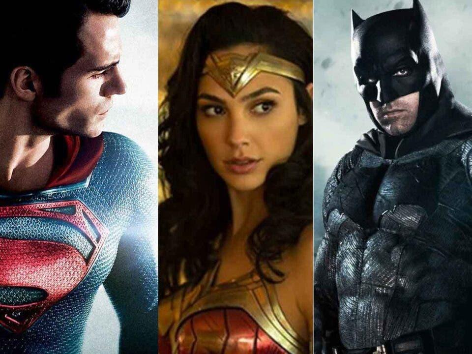 Espectacular tráiler de la trilogía de Zack Snyder de DC Comics