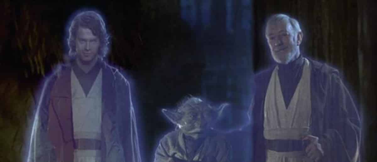 Obi-Wan could learn how to transcend with Qui-Gon Jinn