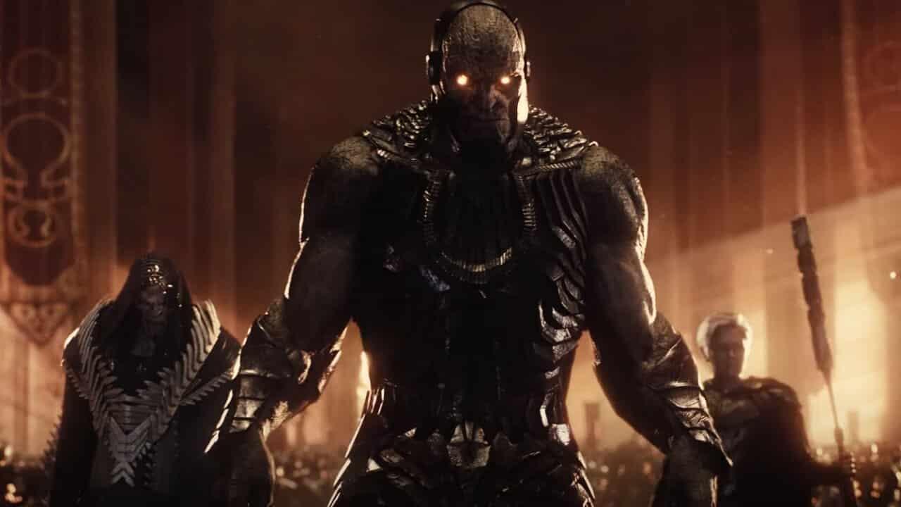 Liga de la justicia de Zack Snyder Darkseid invade la tierra