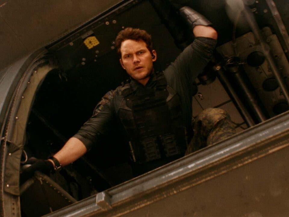 Chris Pratt lucha contra alienígenas en LA GUERRA DEL MAÑANA. Primeras imágenes oficiales