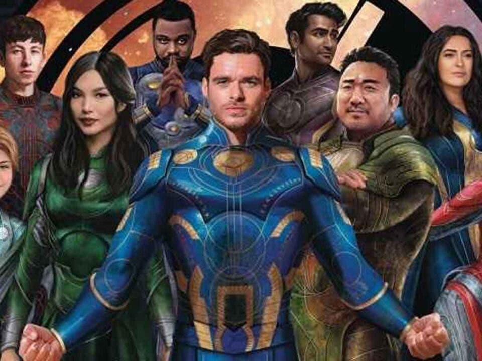 Los Eternos de Marvel Studios todavía no está terminada