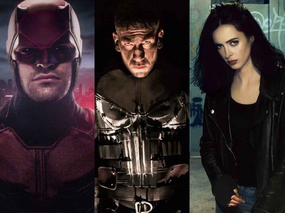 Los planes de Marvel Studios para Daredevil, Punisher y Jessica Jones