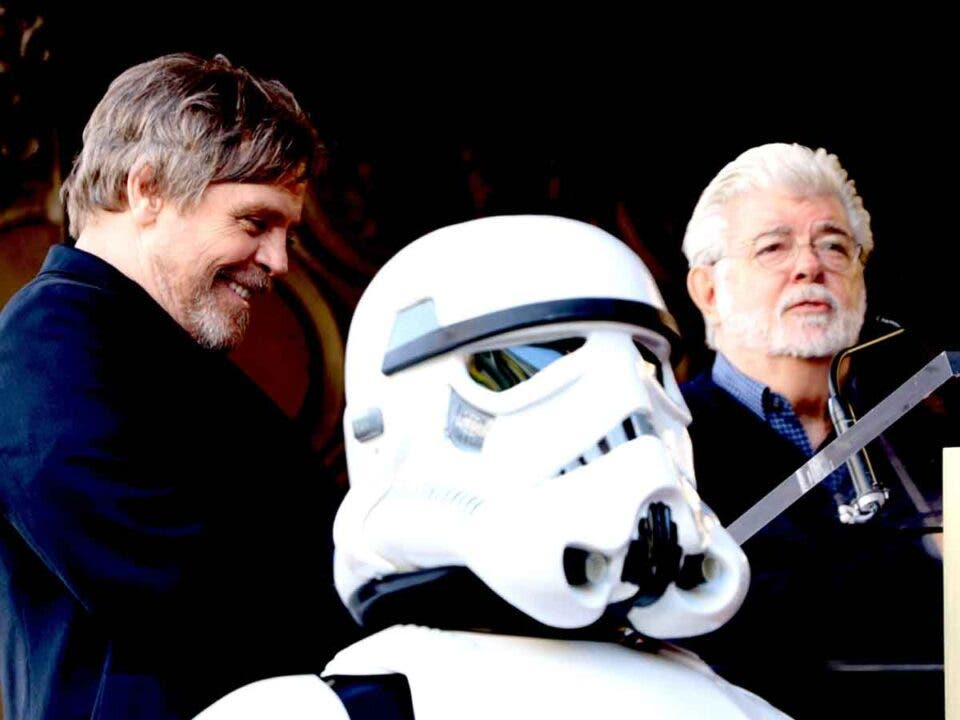 Mark Hamill revela un secreto sobre George Lucas