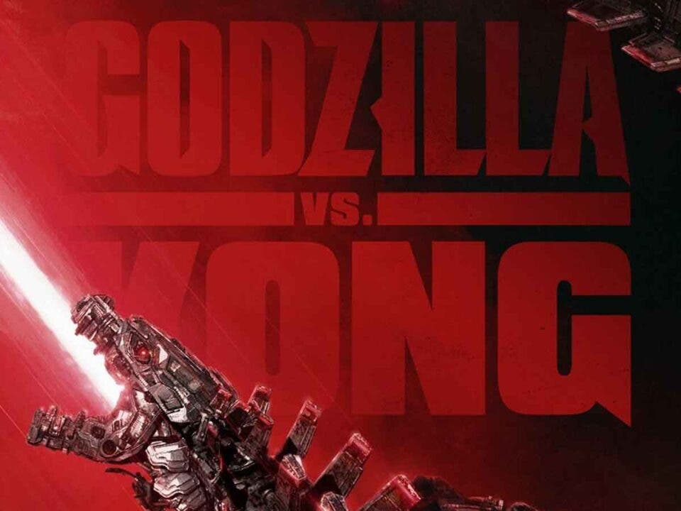 Mechagodzilla protagoniza un póster de Godzilla vs Kong