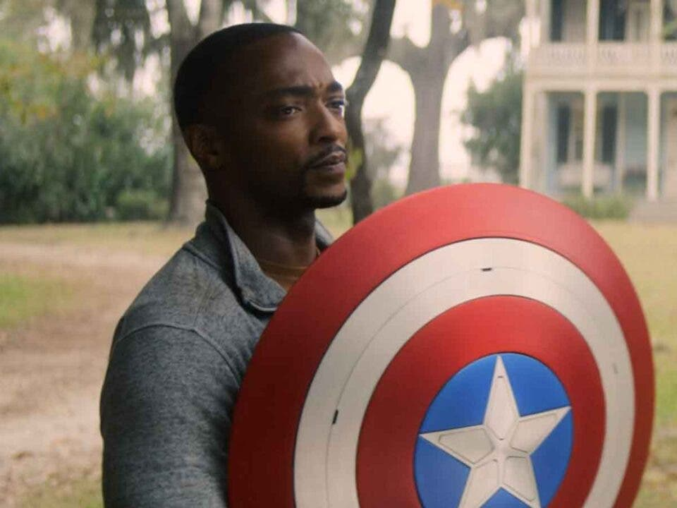 Exact moment Falcon knew he was Captain America