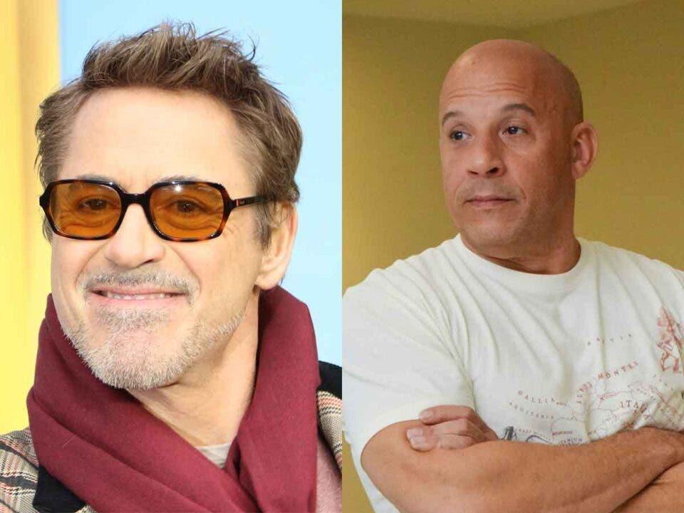Lo que diferencia a Robert Downey Jr y Vin Diesel del resto de la gente