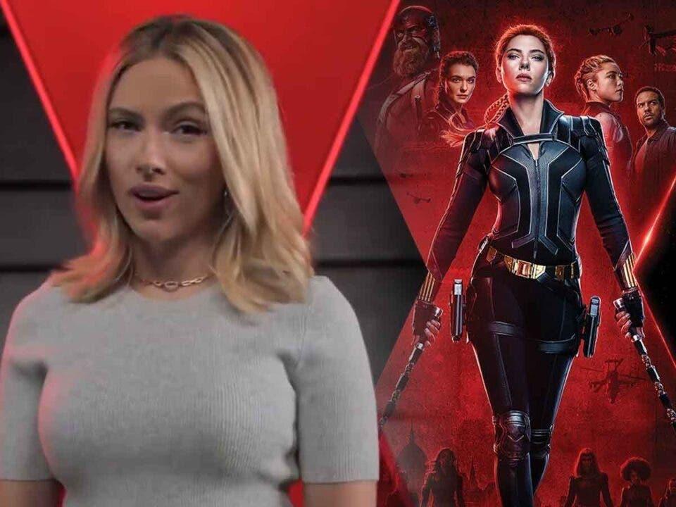 Scarlett Johansson destaca los mejores momentos de Viuda Negra