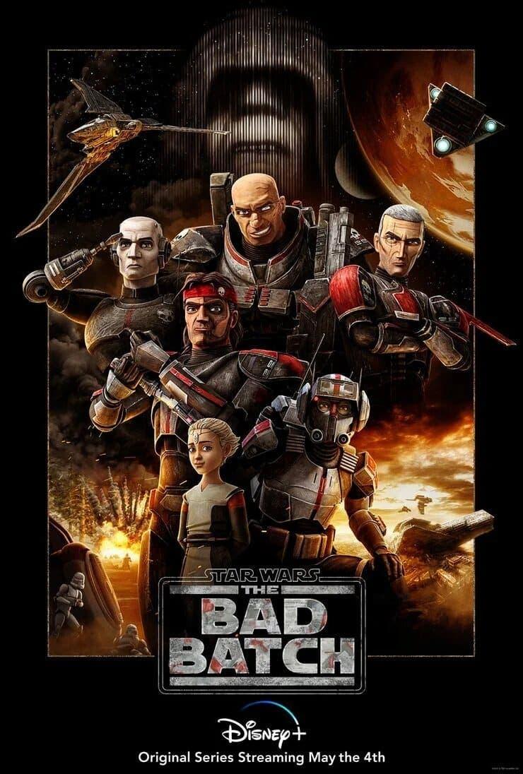 Nuevo poster de Star Wars: The Bad Batch