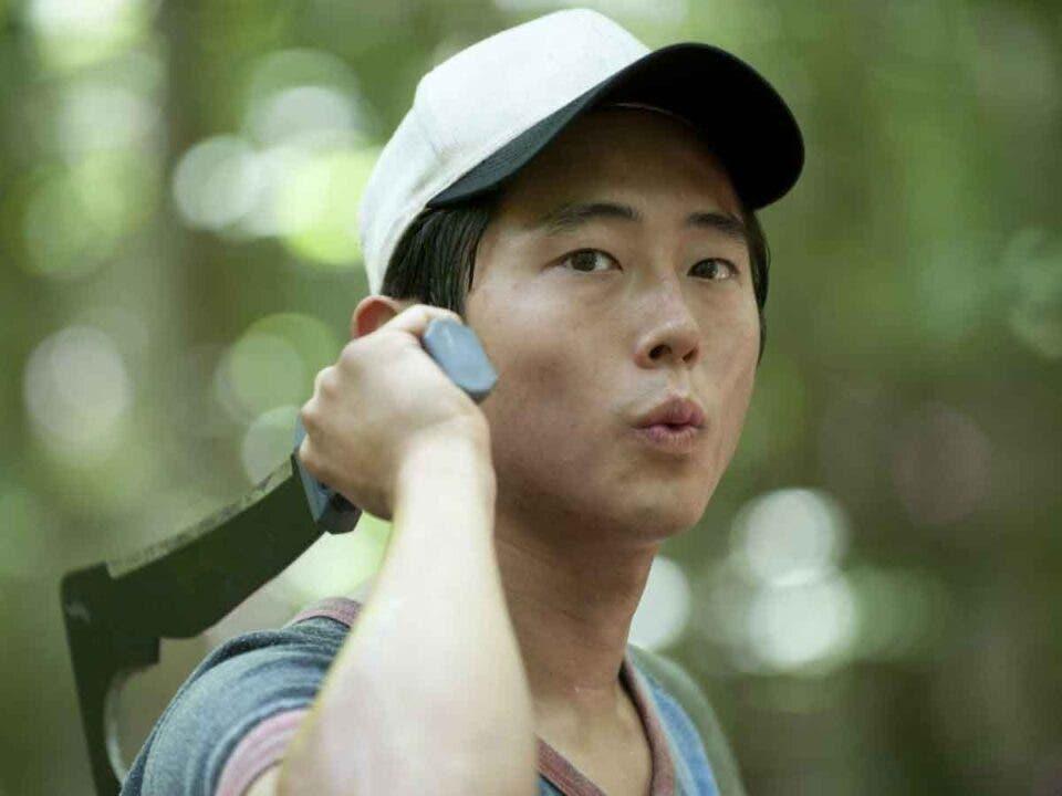 Steven Yeun revela que The Walking Dead no lo preparó para la pandemia