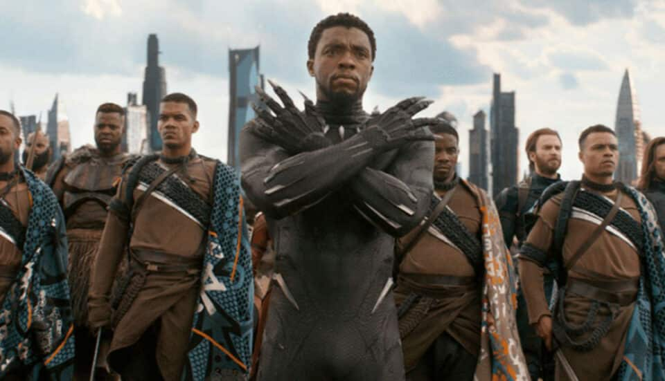 Pantera Negra superhéroes