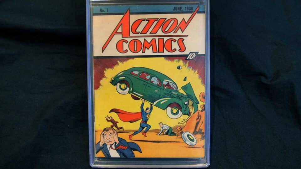 Tomo de Action Comics # 1, la primera aparición de Superman