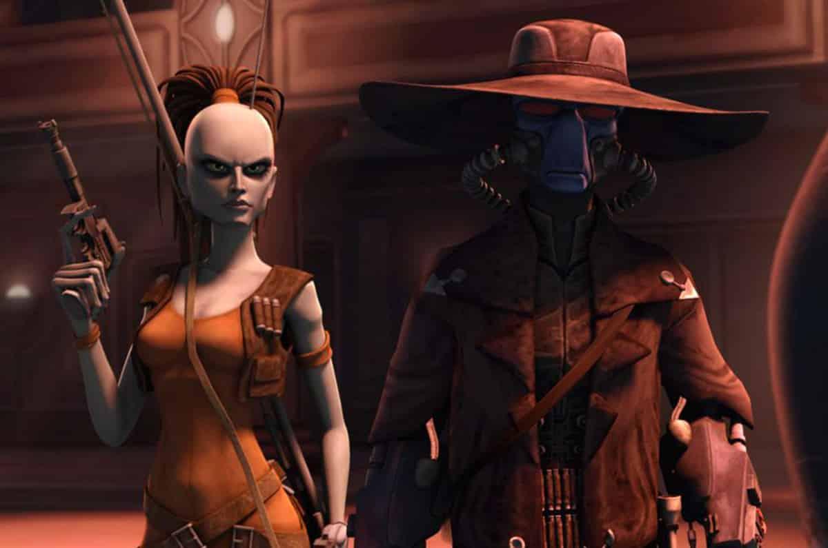 Aurra Sing y Cad Bane en Star Wars - Clone Wars