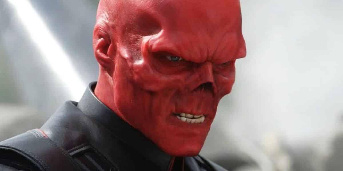 cráneo rojo marvel