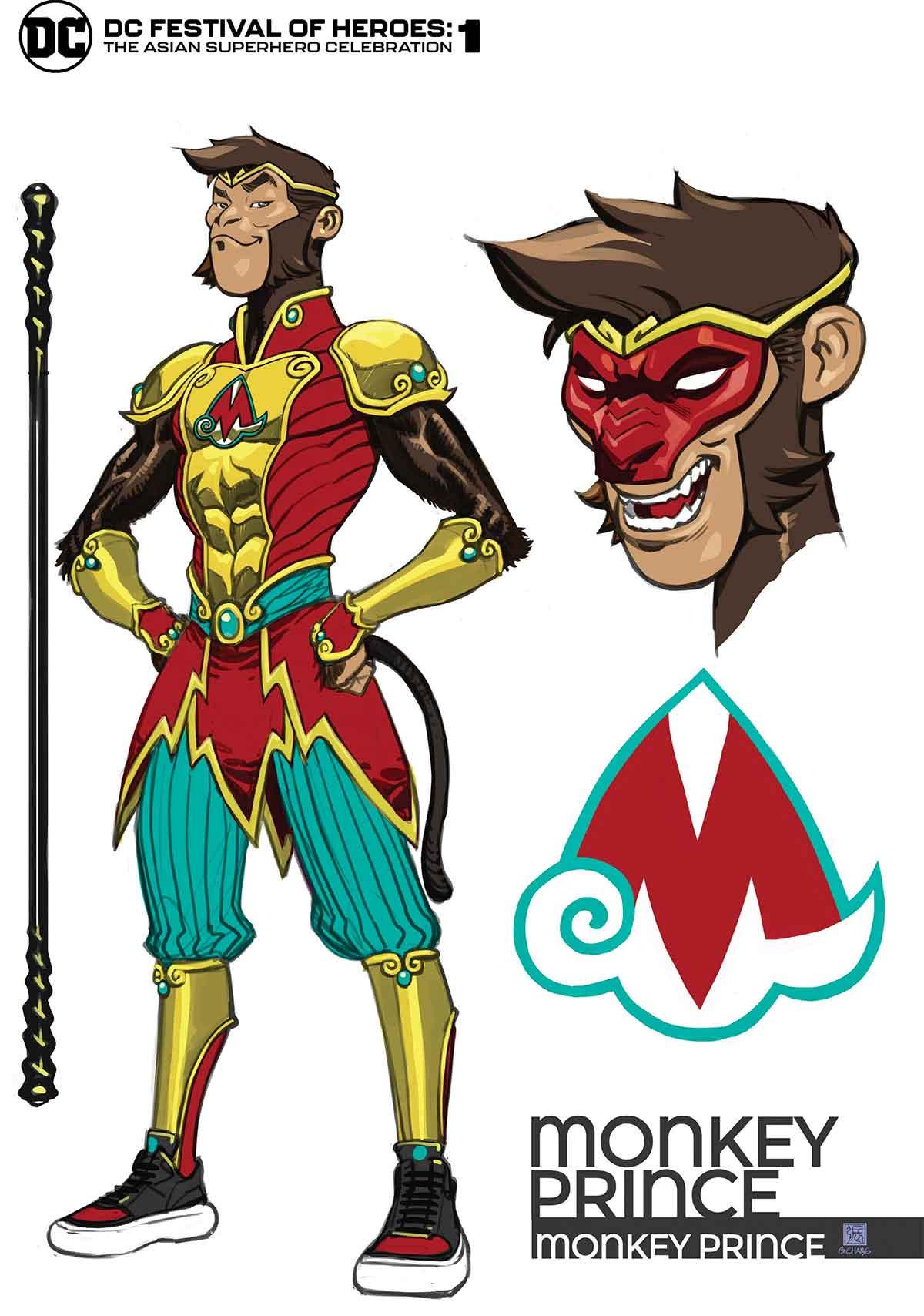 DC Comics presenta a su nuevo superhéroe asiático