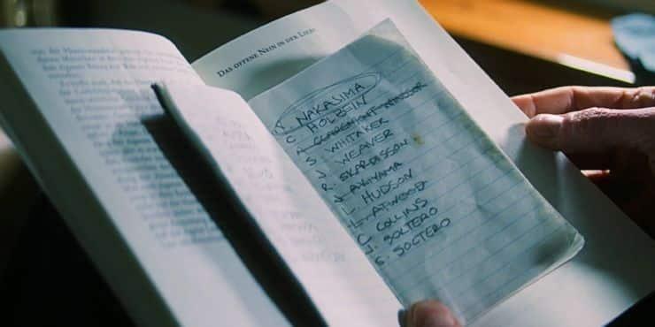 el cuaderno de Bucky