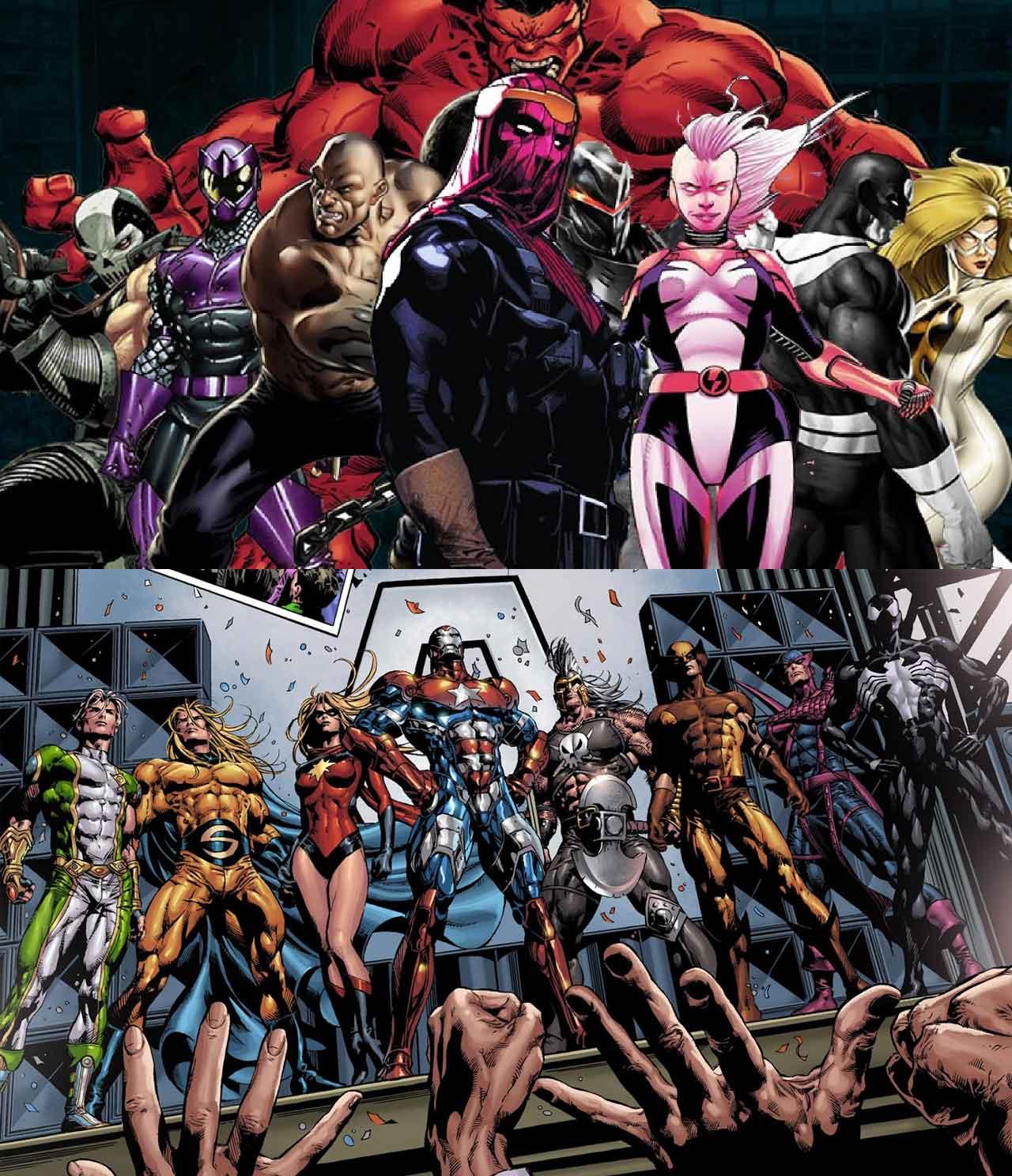 Marvel Studios tendrá dos nuevo súper equipos