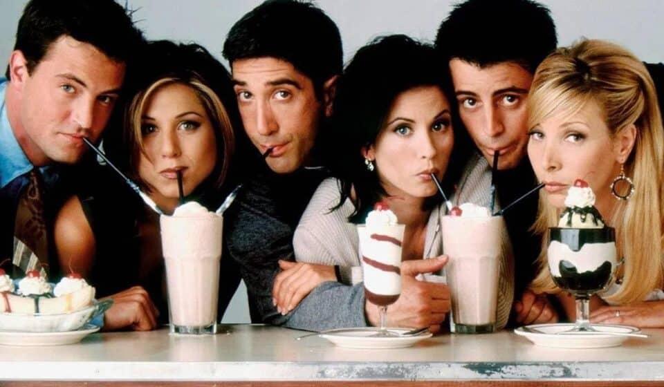 ¡Primeras imágenes del reencuentro de Friends!