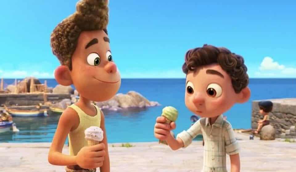 Pixar publicó un nuevo y sorprendente trailer de Luca