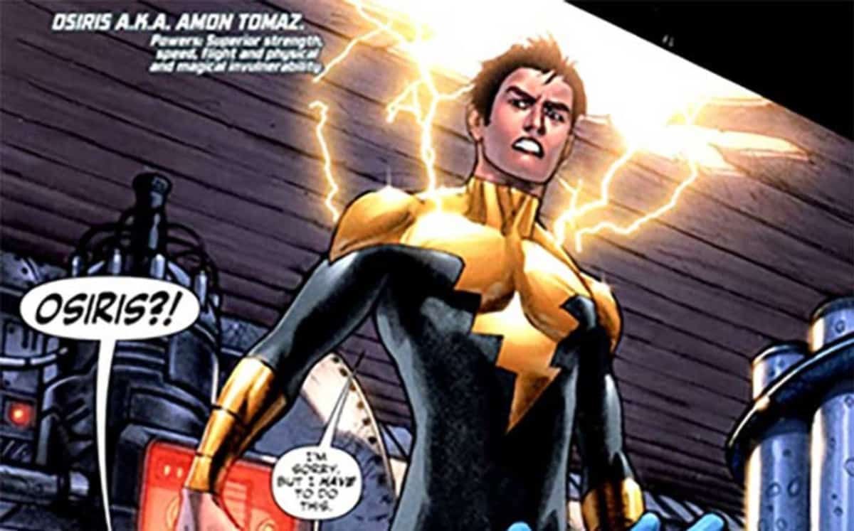 Osiris is a recurring DC character in the Black Adam stories