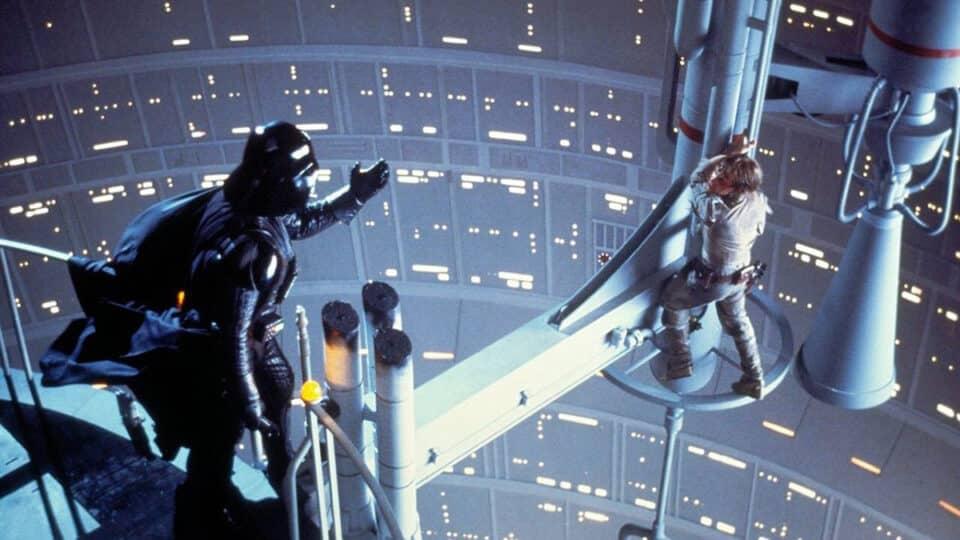 Darth Vader vs Luke