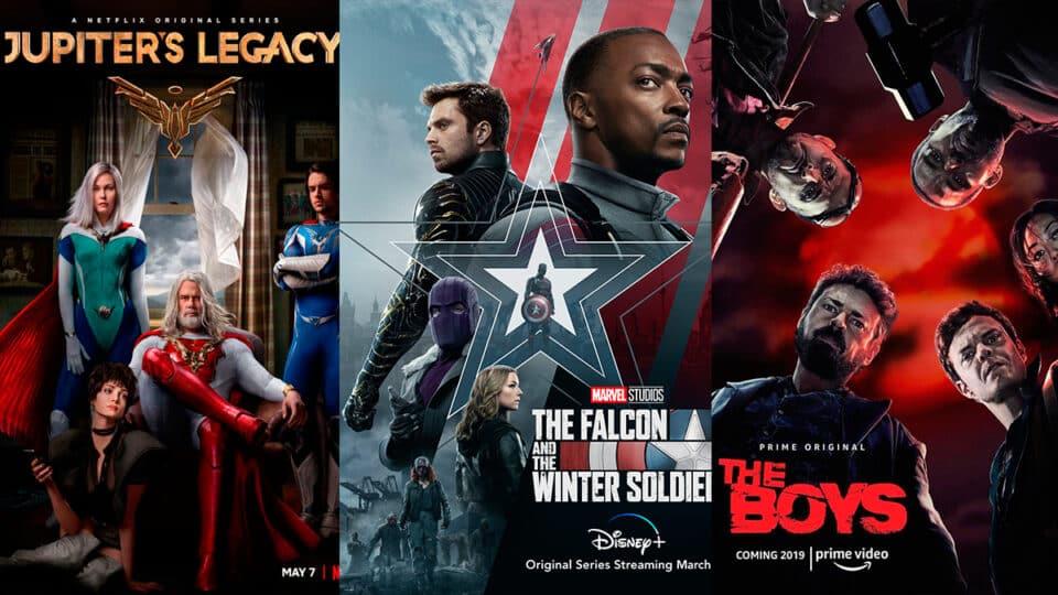 Los superhéroes, el deseo de todas las plataformas de streaming