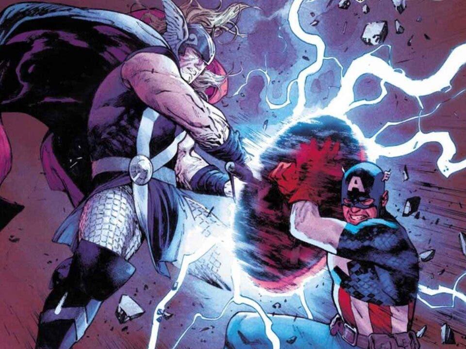Thor vs Capitán América: El gran enfrentamiento del Universo Marvel