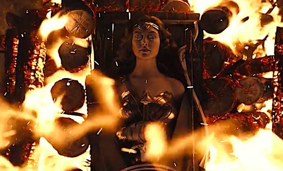 wonder woman funeral en Liga de la justicia de Zack Snyder