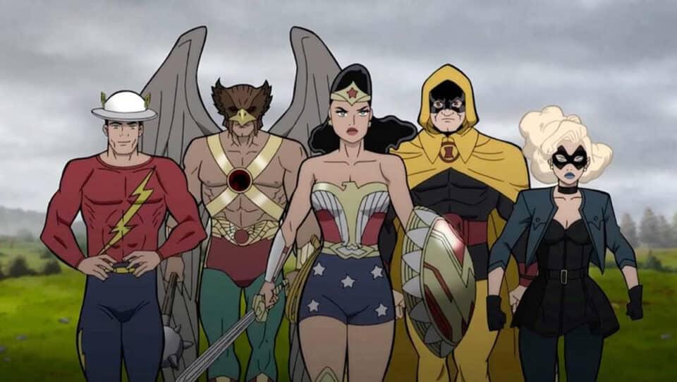 Justice Society: WWII estrenará el 27 de abril