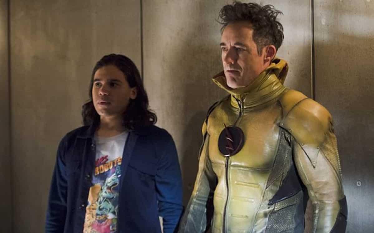 La serie de Flash pierde a dos de sus protagonistas