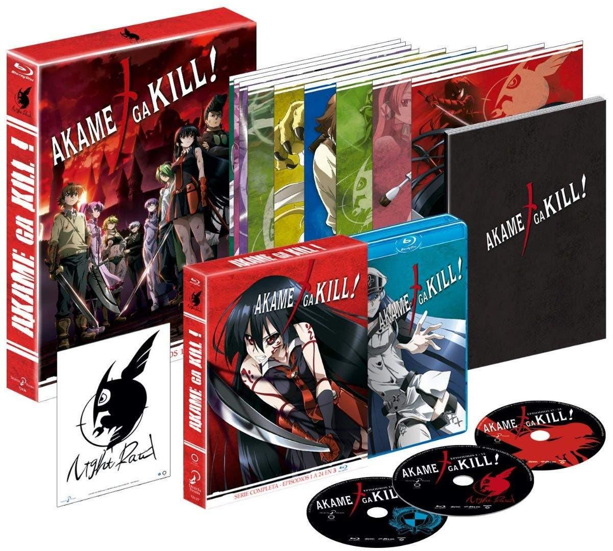 Akame ga Kill! - Serie Completa (Edición Coleccionista) - Blu-ray