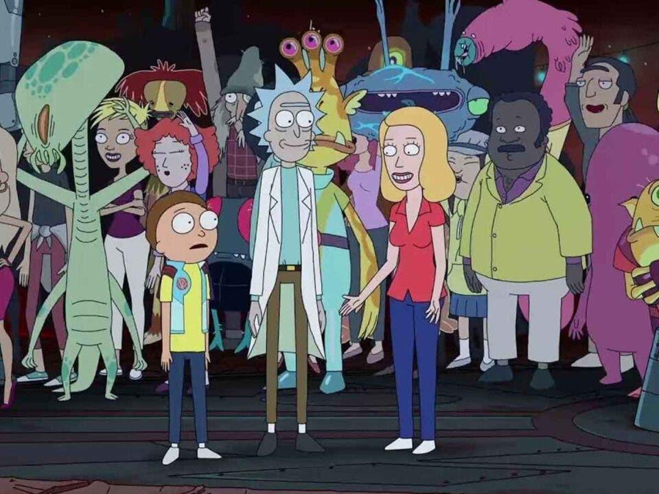 Así será el spin-off de Rick y Morty