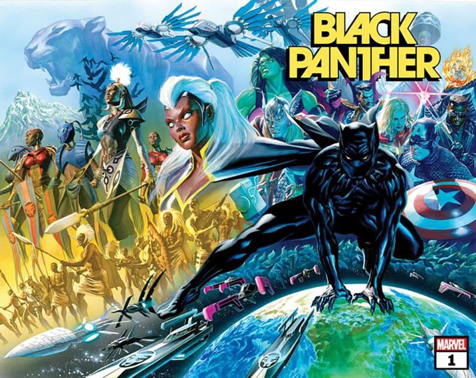 Marvel usará ganador del Oscar para escribir cómics de Black Panther