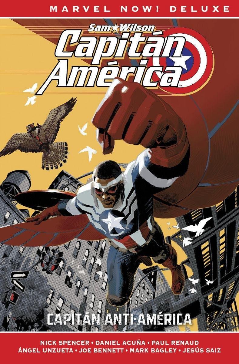 Marvel Now! Deluxe. Capitán América de Nick Spencer 1