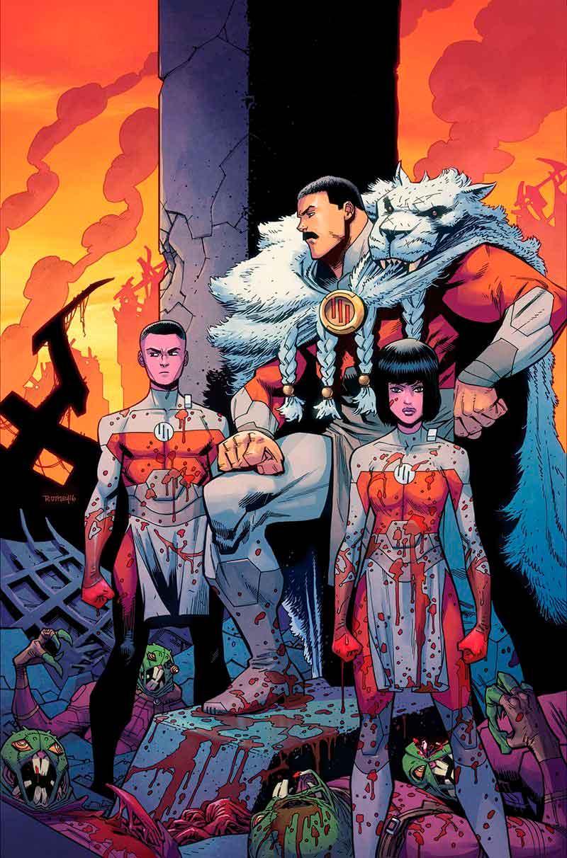 El gran regente Thragg: Invencible: Los 10 villanos más aterradores que están por llegar