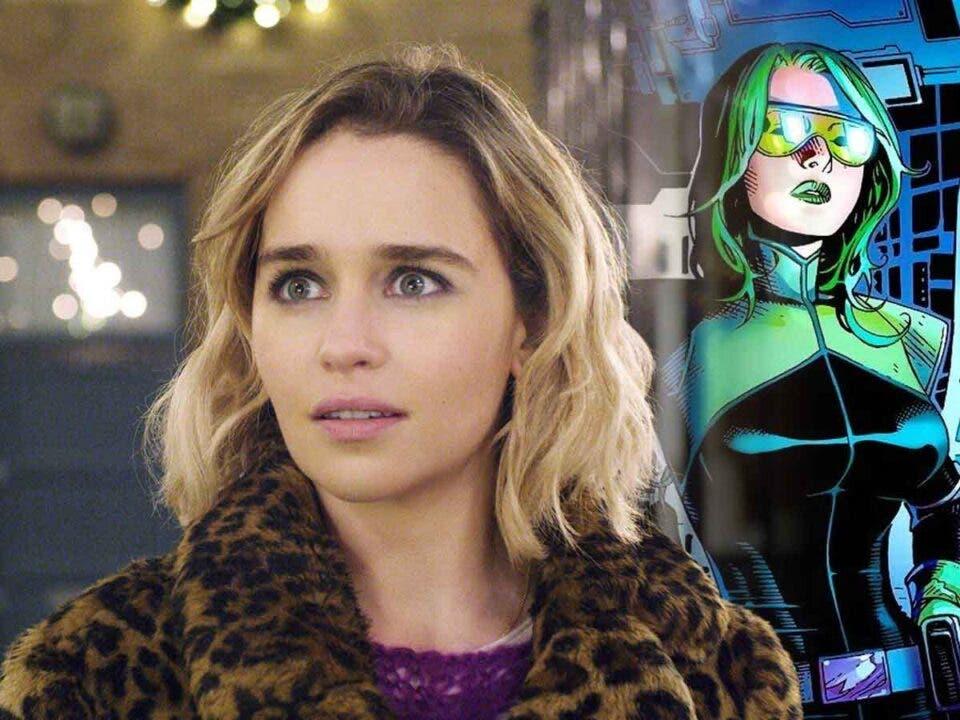 Espectacular Fan Art de Emilia Clarke como un personaje de Marvel Studios