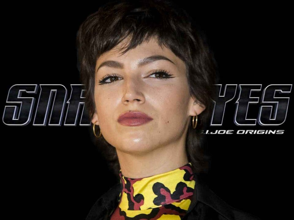 Spectacular first image of Úrsula Corberó in Snake Eyes: the origin