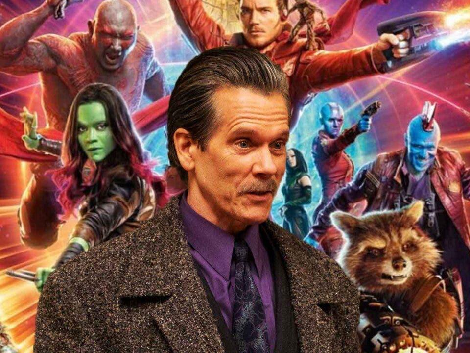 Kevin Bacon quiere estar en Guardianes de Galaxia Vol 3