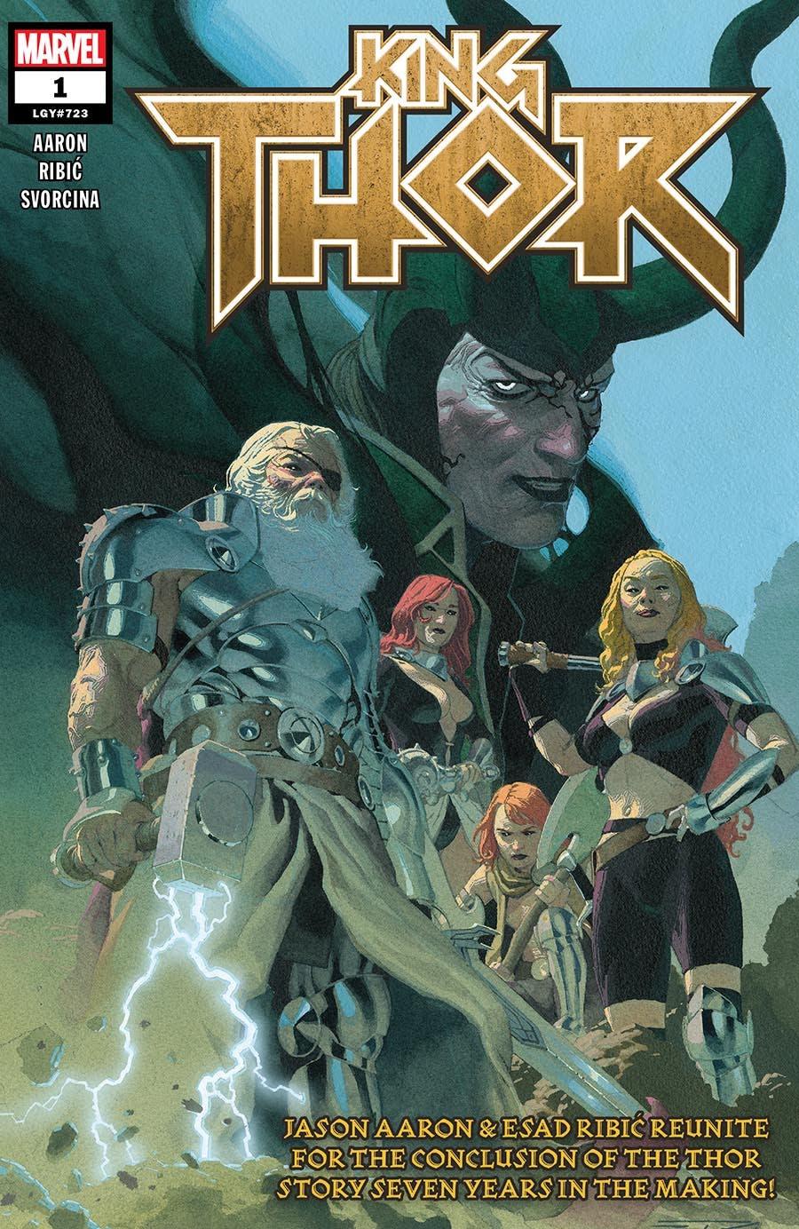 King Thor jason aaron and esad ribic: god-butcher marvel comics loki