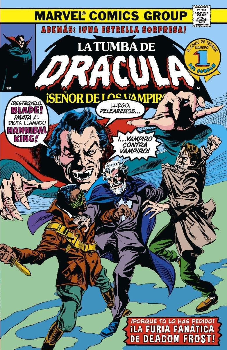 Biblioteca Drácula. La Tumba de Drácula 7 de 10
