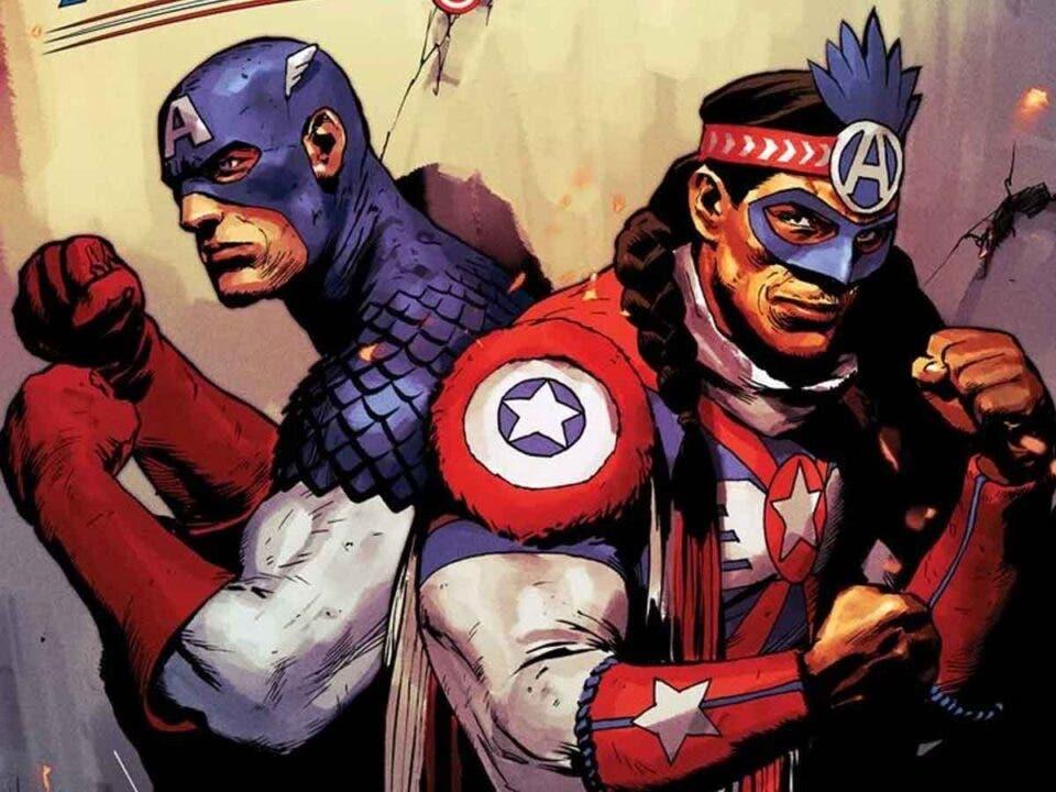 Marvel presenta al Capitán América nativo americano
