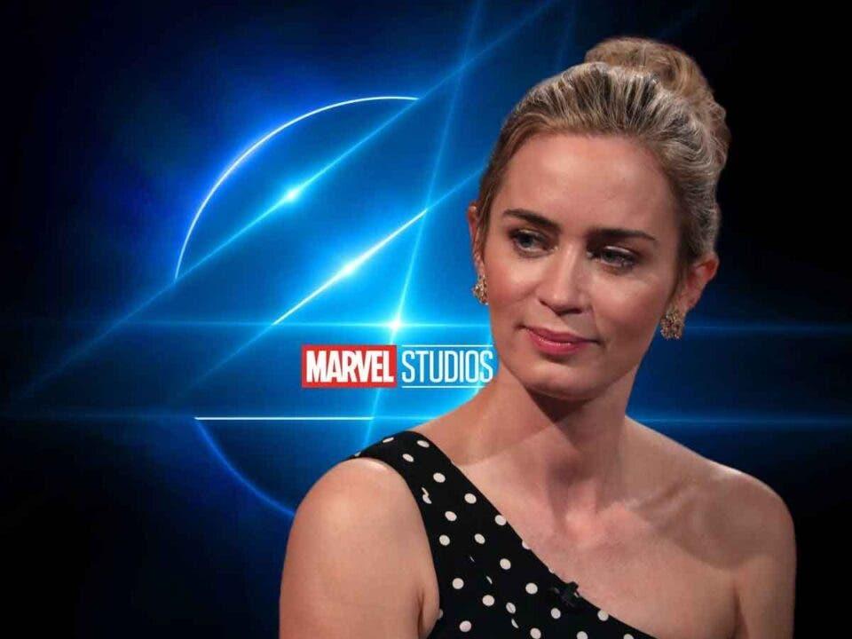 Motivo por el que Emily Blunt no estará en el reinicio de Los Cuatro Fantásticos