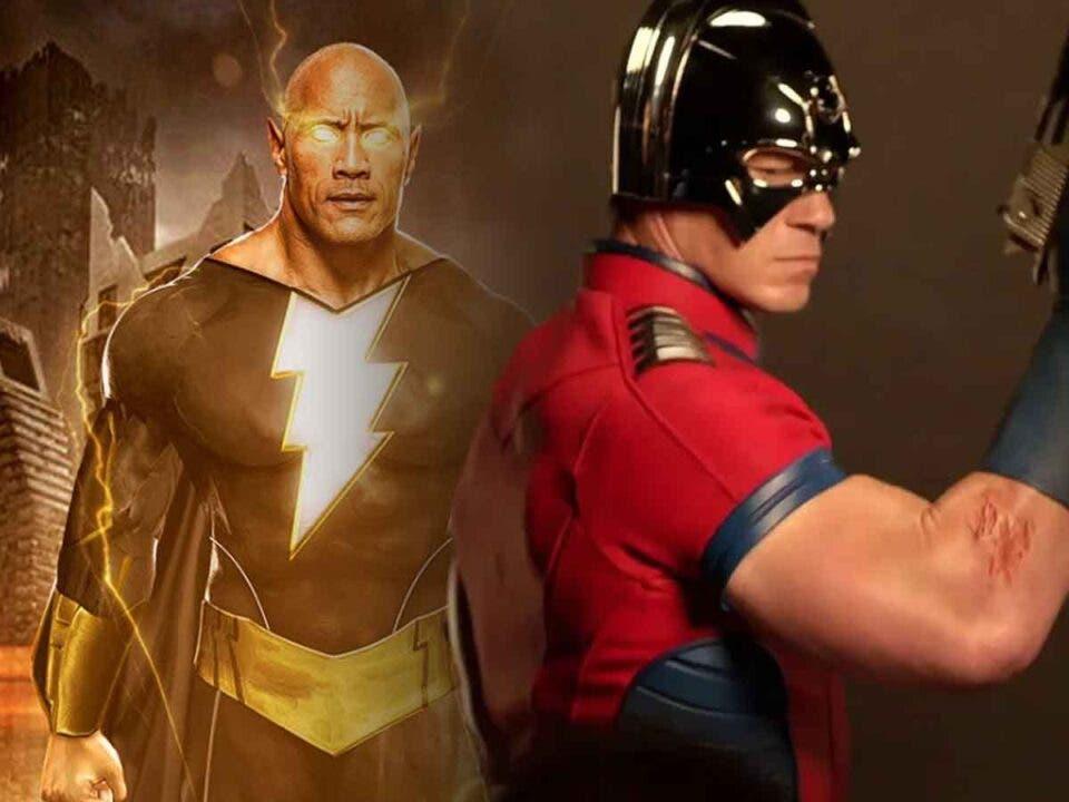 Peacemaker vs Black Adam is a logical step according to John Cena