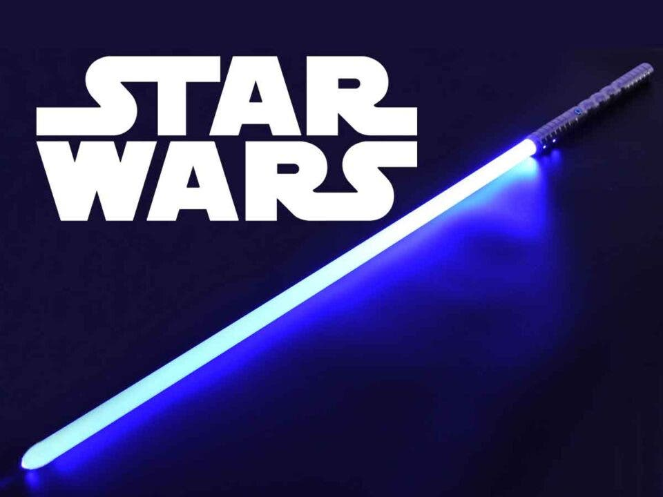 Star Wars reveals first image of a real lightsaber