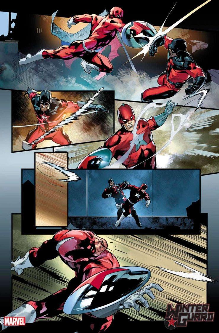 Versión rusa de los Vengadores de Marvel