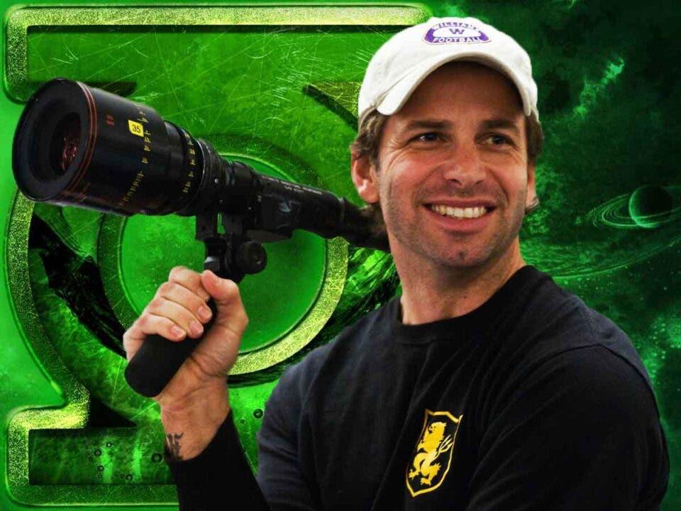 Zack Snyder muestra una espectacular imagen de su Linterna Verde